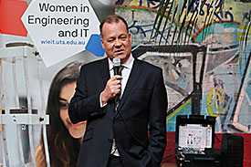 Speaker at Women in Engineering and IT event