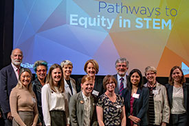 Women in STEM conference participants.